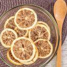 Citron lyophilisé