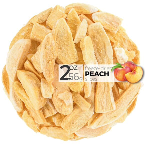 Peach Freeze Dried