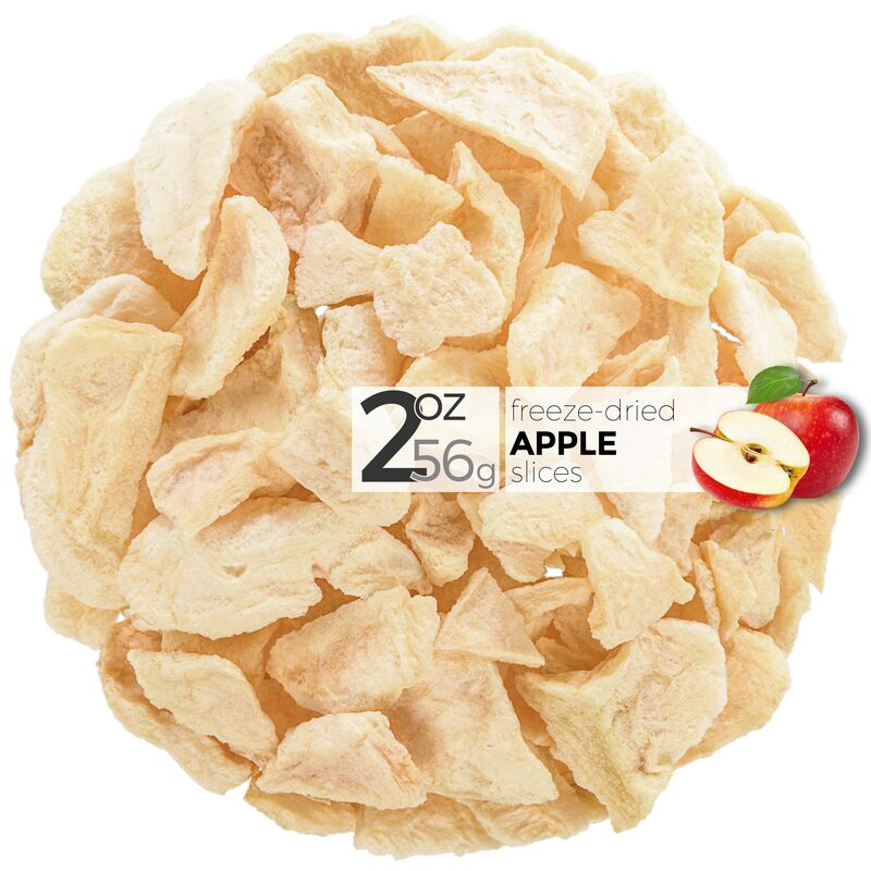 Pommes lyophilisées