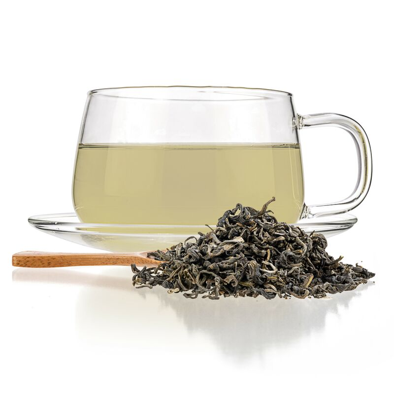 green tea blends