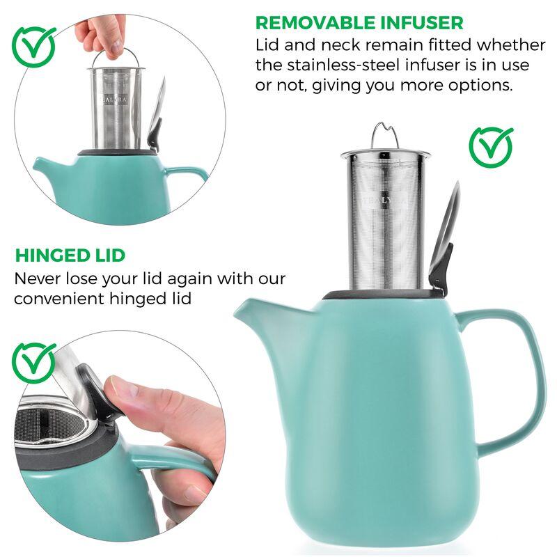 Daze Ceramic Teapot 47oz
