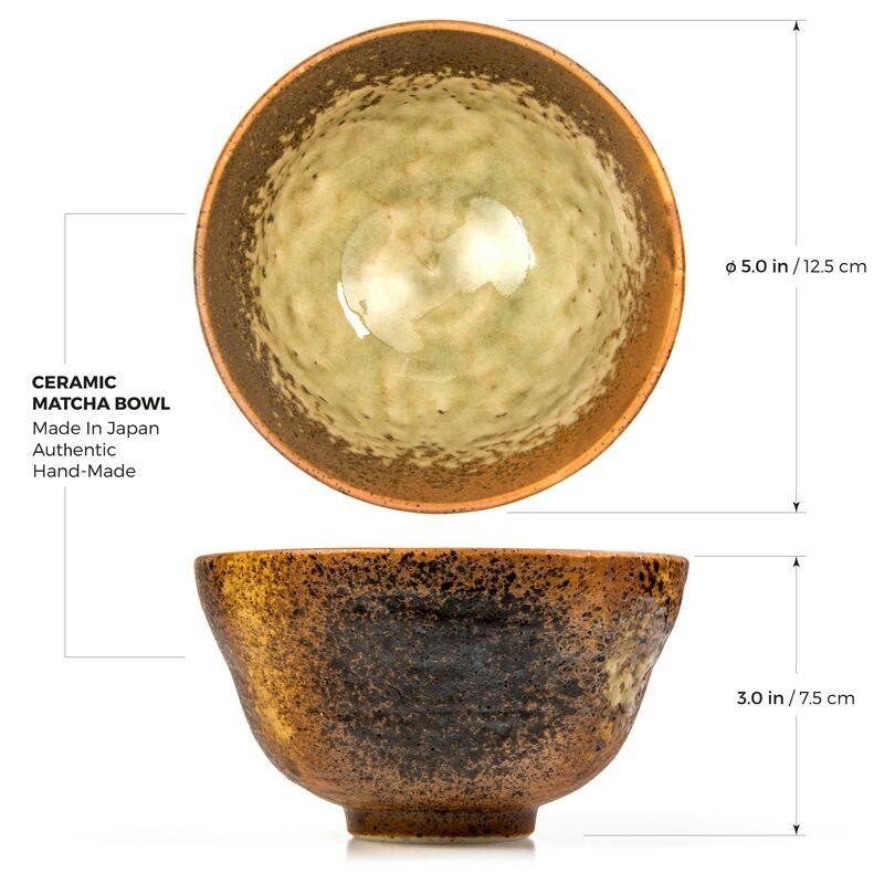 image-Matcha-Golden-Earthenware-Chawan-online