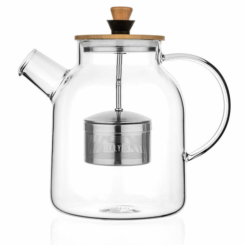 Glass Teapot & Kettle w/ Infuser 1.4L