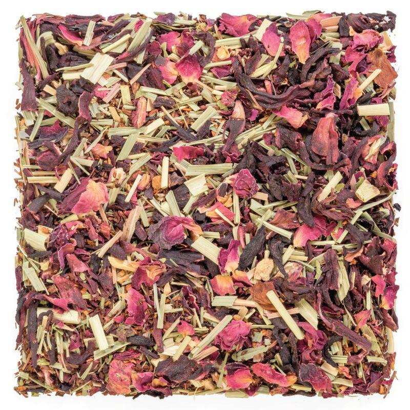 Cocktail curatif à l'hibiscus