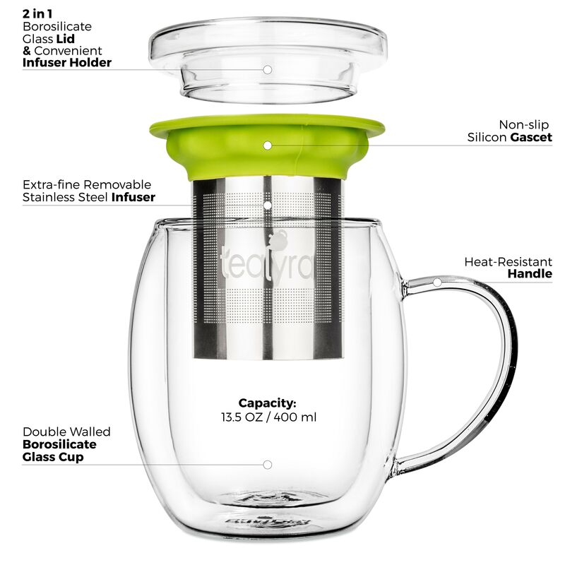Venus Double Wall Cup Infuser